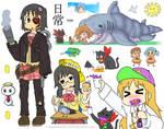 Nichijou doodles