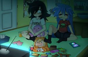 Otaku Party by PowderAkaCaseyJones