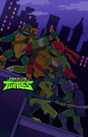 Rise Of The TMNT by PowderAkaCaseyJones