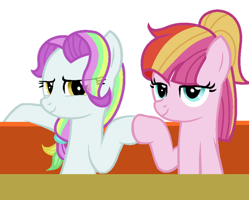 mlp toola roola and coconut cream by blueskysilversong on