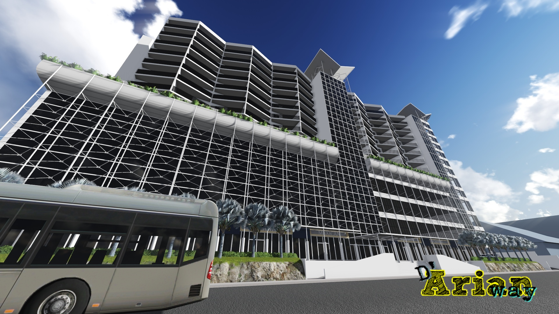 Mixed-Use Project by thearianway