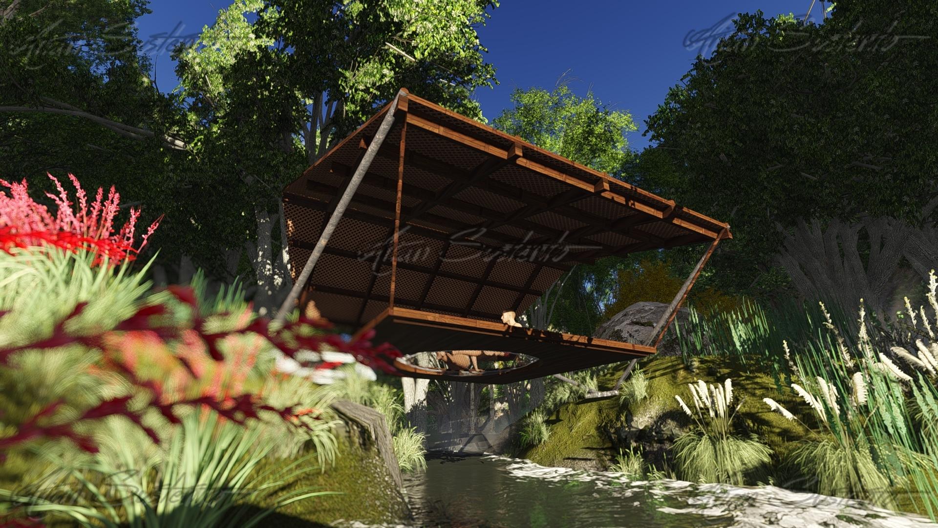 Hammock Cabana by thearianway