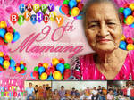 Lola's 90th Birthday Tarpaulin