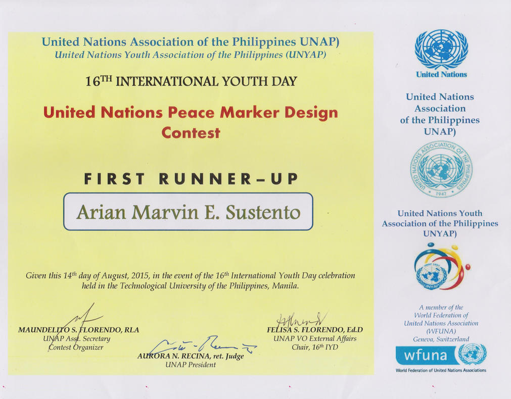 UN Peace Marker Design Contest by thearianway
