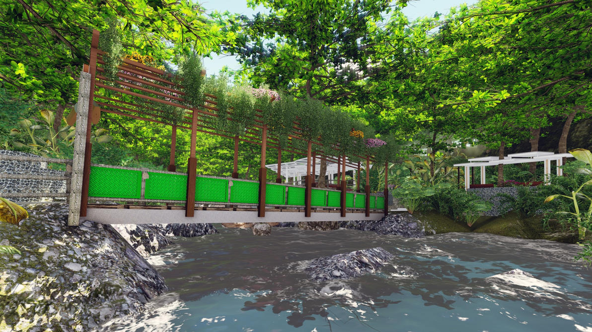 Infinity Farm River Area by thearianway