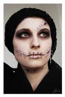 Halloween Make Up part 2 by LeafOfSteel