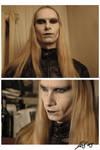 Prince Nuada - make-up