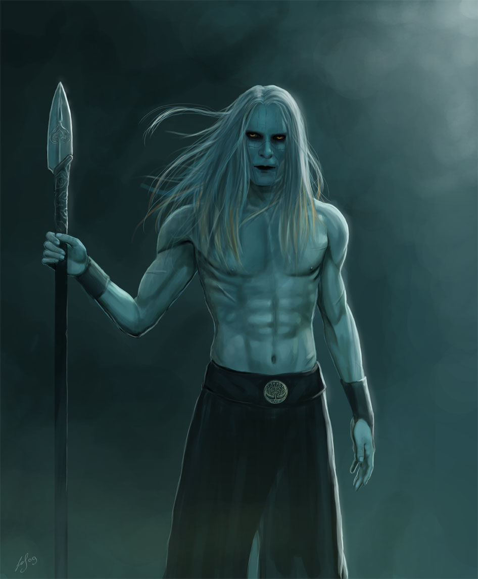 Silverlance by LeafOfSteel on DeviantArt Hellboy 2 Prince Nuada