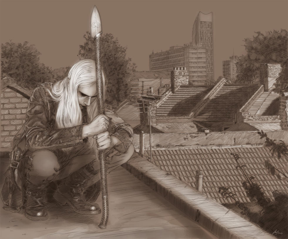Nuada in Exile by LeafOfSteel