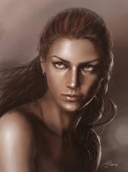 Portrait 1 by LeafOfSteel
