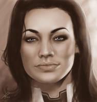 Miranda Lawson by LeafOfSteel