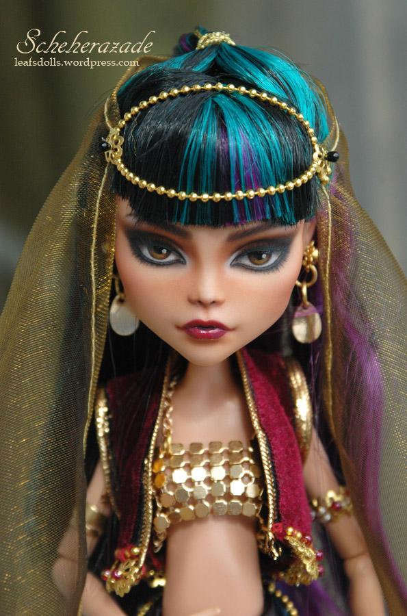Scheherazade - Cleo de Nile repaint by LeafOfSteel