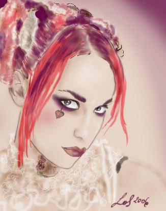 Emilie Autumn by LeafOfSteel