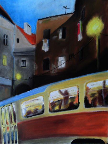 Prague tram by MILOSLAVvonRANDA