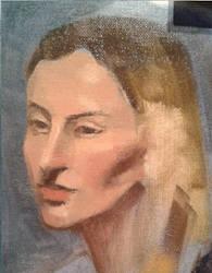 Portrait Study in colour