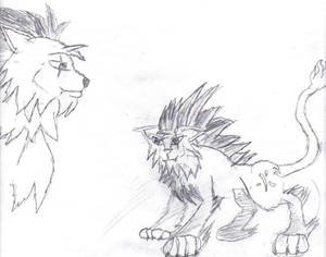 Lion of Flame