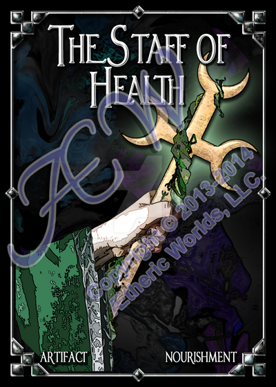 The Staff of Health (NEXUS: The Zoraidian Oracle) by Samurai-ko