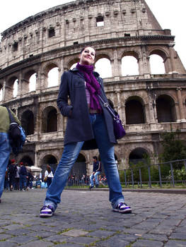 just me in Rome...
