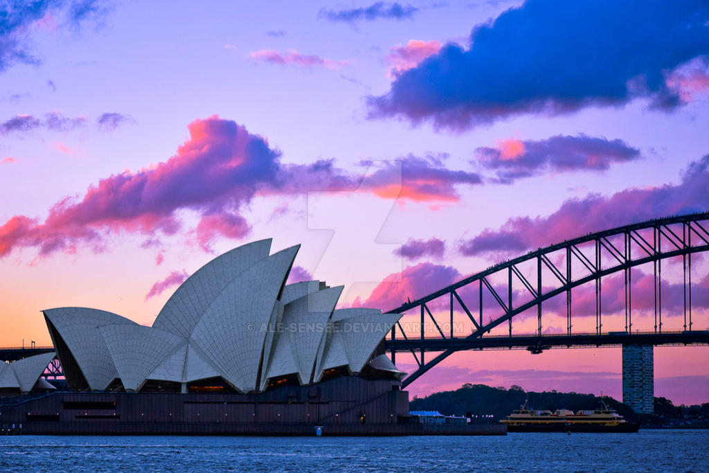 Sydney Opera House by ale-sensee