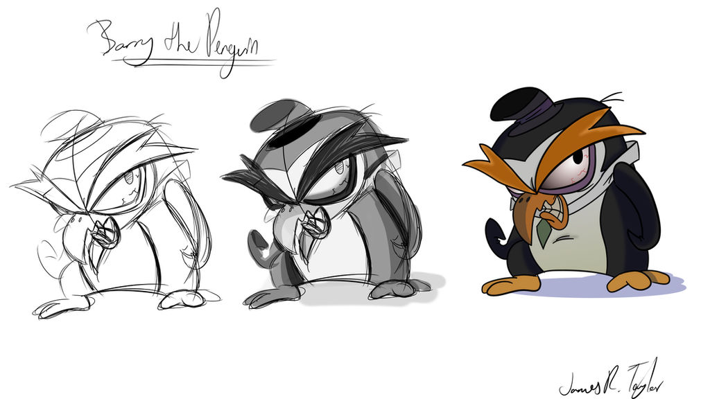 Barry the Penguin Reference by FezzedPenguin