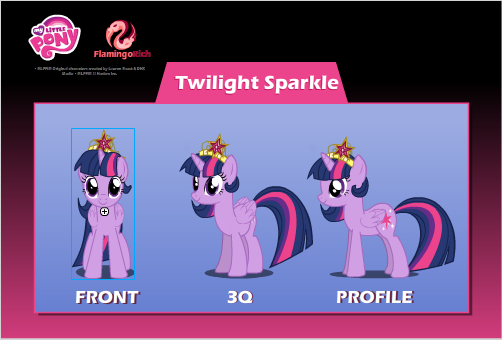 Princess Twilight Sparkle-Dressless by Warewolves