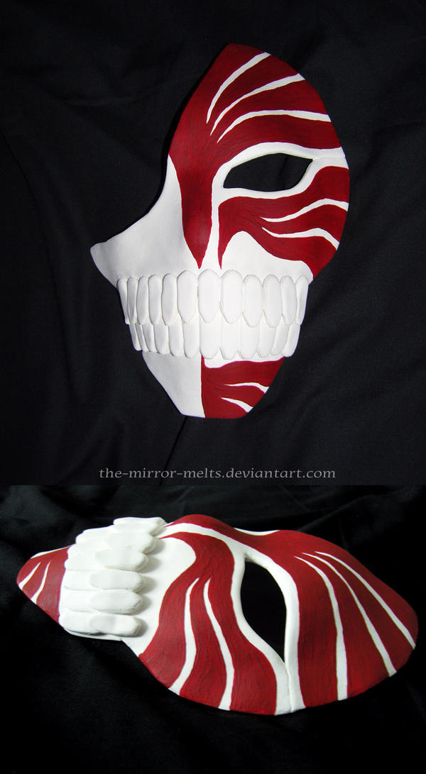Ichigo 10 stripe Hollow mask by the-mirror-melts