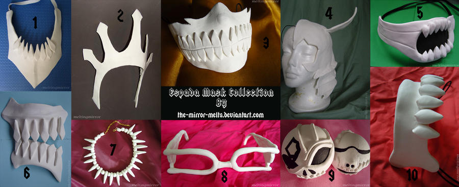 Espada Mask Collection by the-mirror-melts