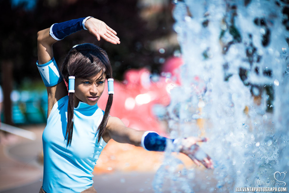 Korra cosplay - waterbending ii by the-mirror-melts