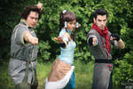 Fire Ferrets - Korra, Bolin, and Mako