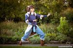Korra cosplay - Ready to fight