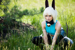 Ms. Fortune Cosplay - Cat in the Grass