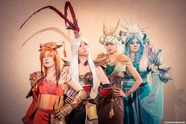 Chinese Zodiac Group - Original Costumes by the-mirror-melts
