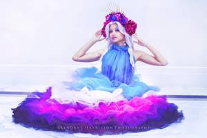 Allura - Galaxy gown