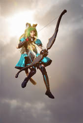Atalanta the Archer of Red