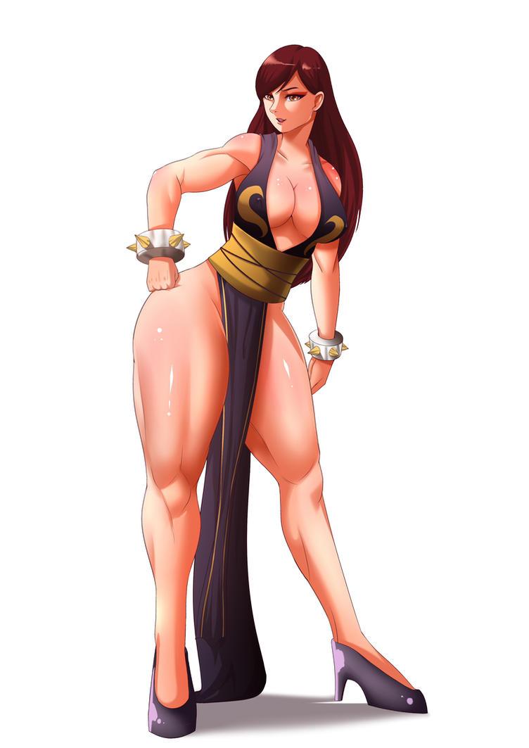 Chun Li Street Fighter 4 Alternate Costume by chrisman83