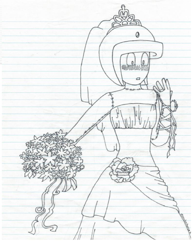 Mannequin Bride by Zombiehorse2