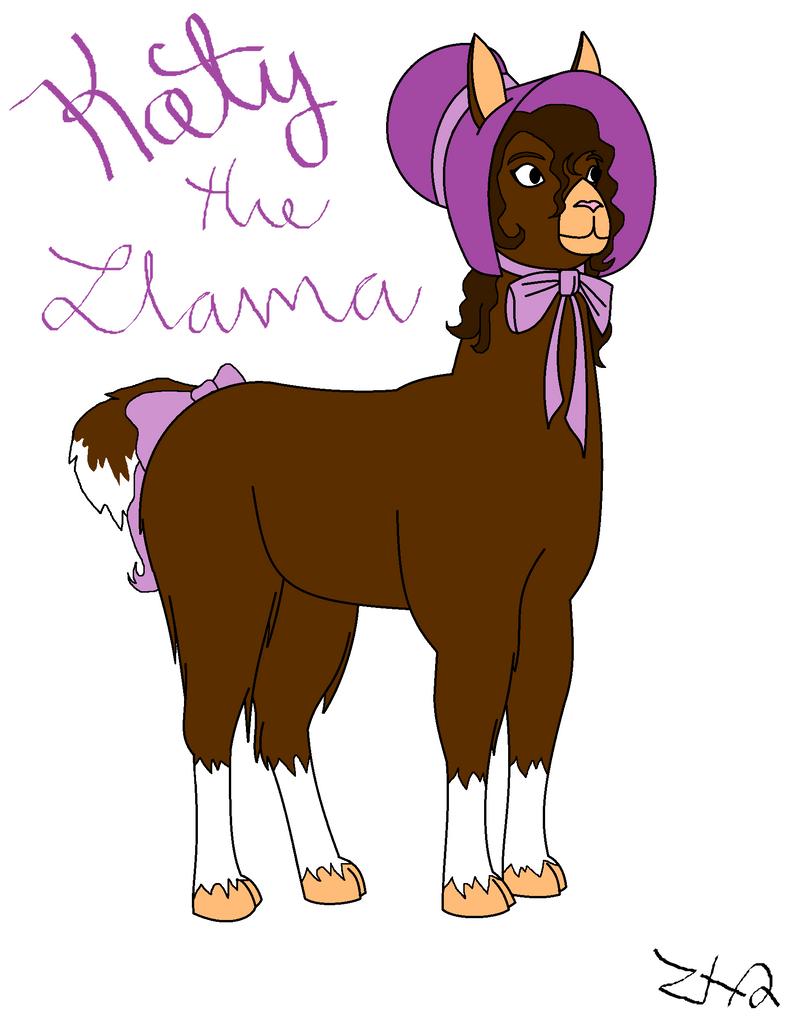 Katy the Llama by Zombiehorse2