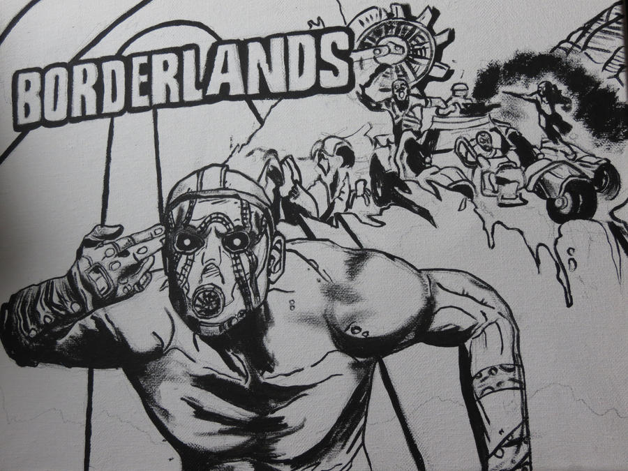 Borderlands: Drawn by marlainawho