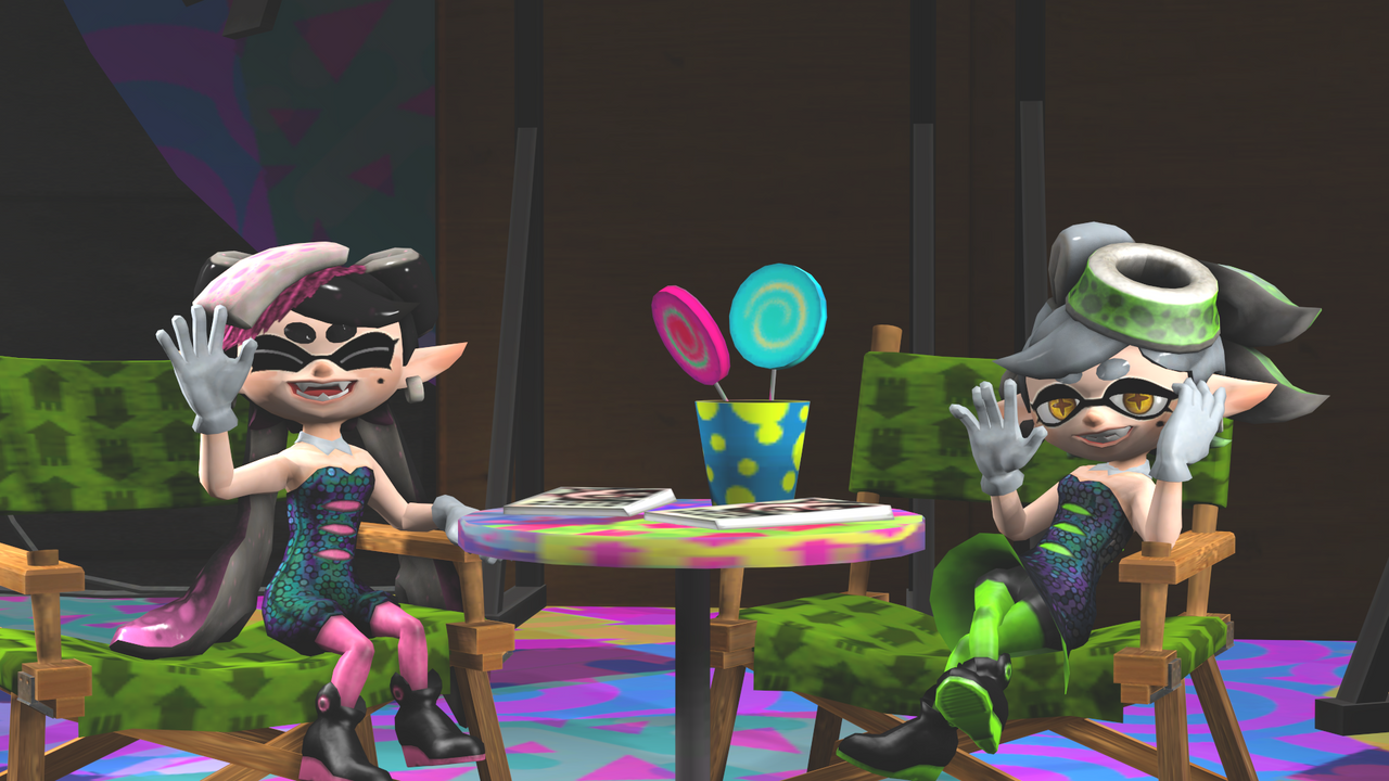 Callie And Marie Wallpaper: Callie And Marie By DrLilRobot On DeviantArt