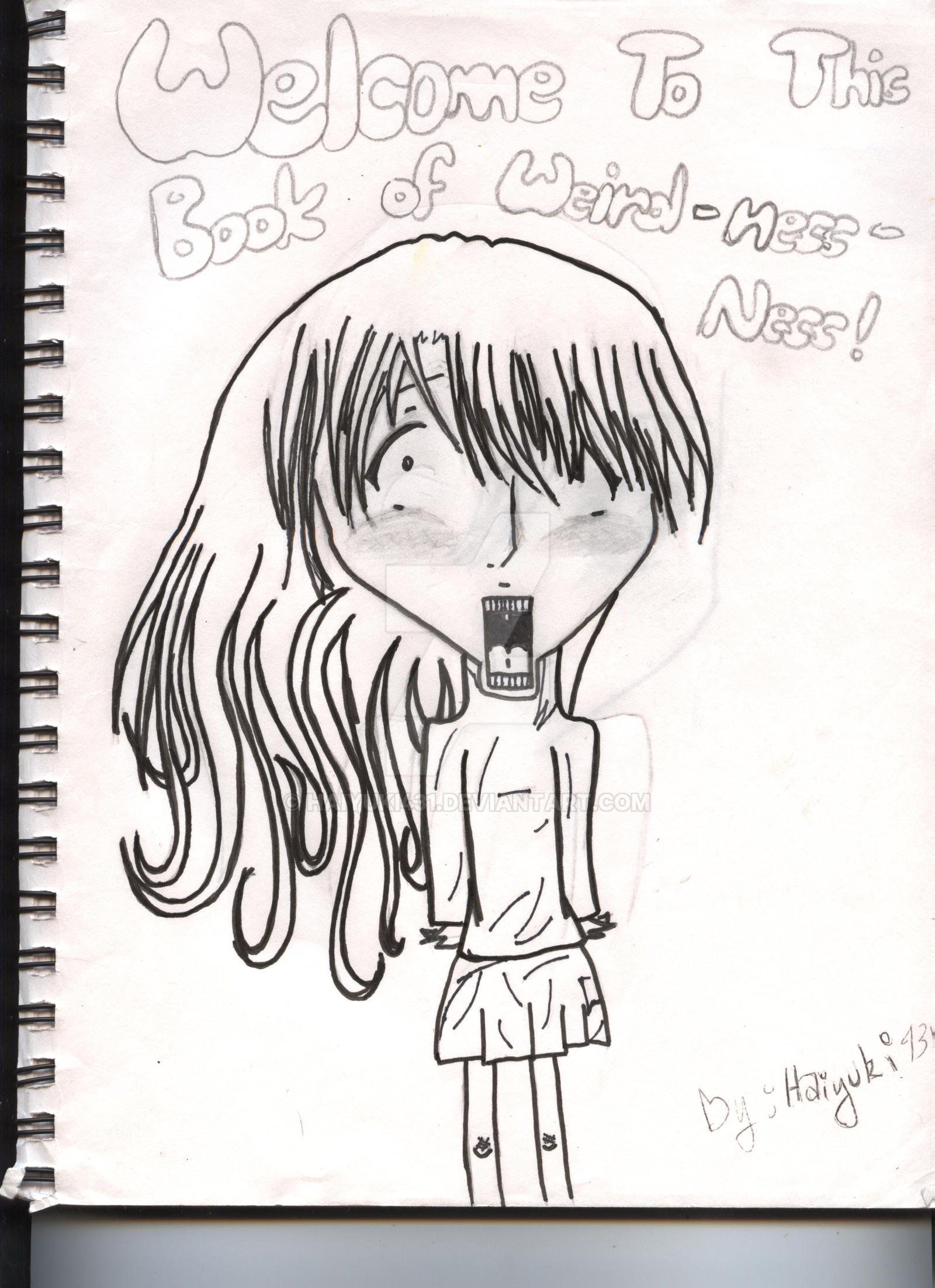 Book Cover Drawing : Art book cover drawing by haiyuki on deviantart