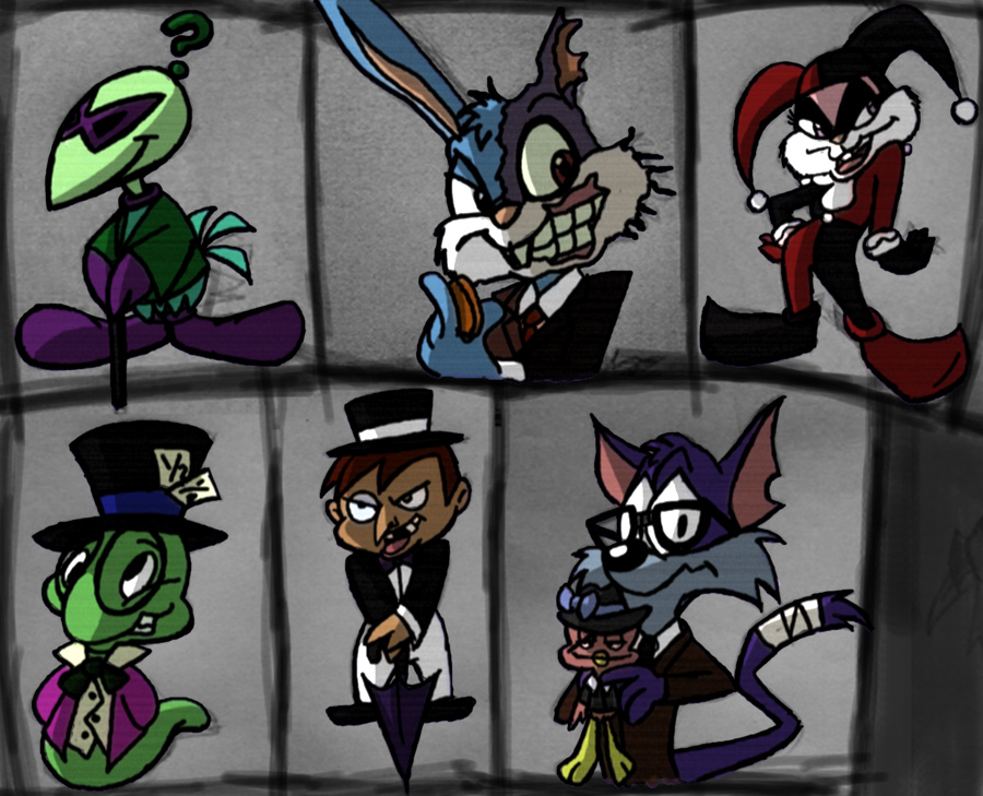 They're all a little looney. by g0N3Morganna