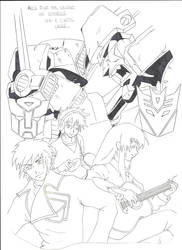 Transformers and keys' power by deviart4ever