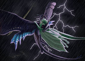 In the Eye of the Storm by RaintheDragoness12
