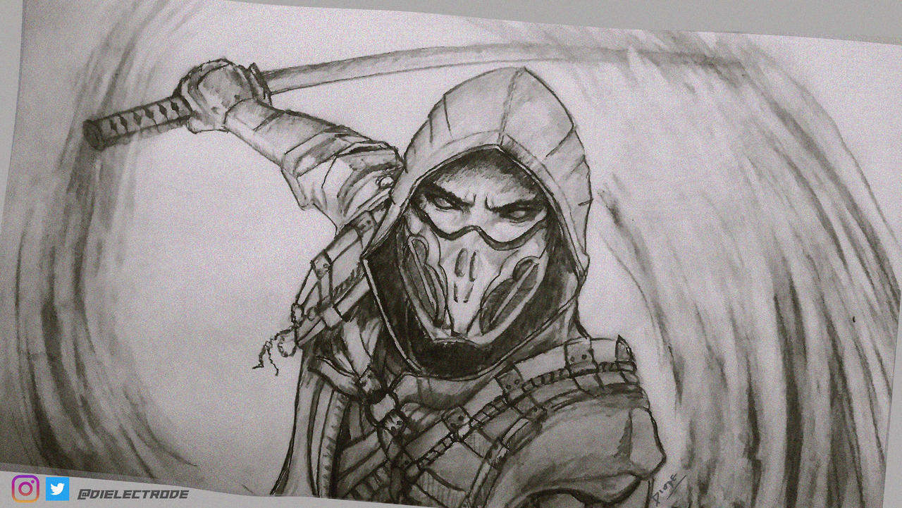 Scorpion Mortal Kombat 11 By Mrdiode On Deviantart