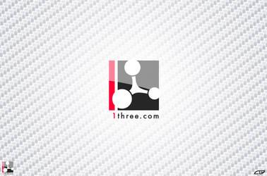 1three Logo by Lenty