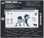 P2U Canine Base by Adelar-Elric