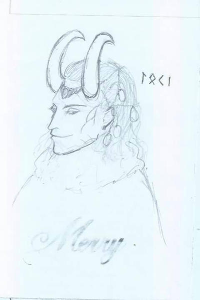 Loki Frost Giant (draft) by sakurageneral