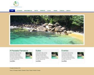 Layout Site Pousada Parnaioca by MagooPV