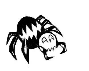 Sketch aranha by MagooPV