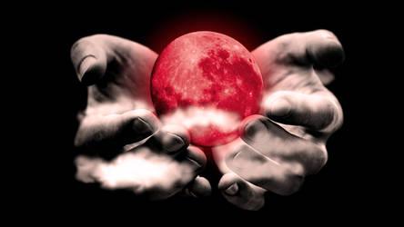 Bloodmoon in hands